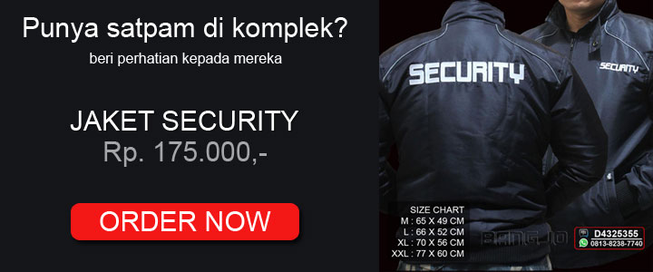jaket security