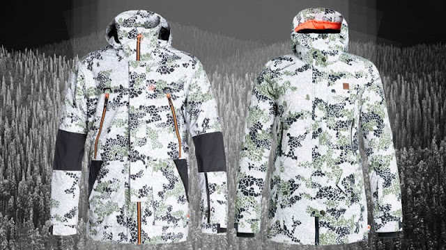 White Snowboard Jacket