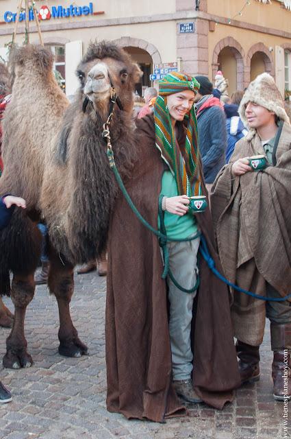 RIbeauville camellos Alsacia Navidad