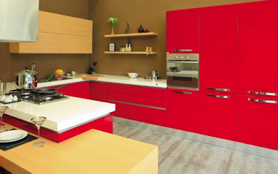 Inspirasi Desain Kitchen Set Later U Pada Dapur Minimalis