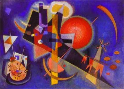 Em Azul - Kandinsky e suas pinturas | O pioneiro da arte abstrata