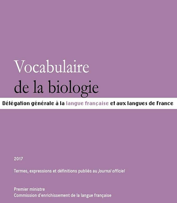 Vocabulaire de la biologie PDF