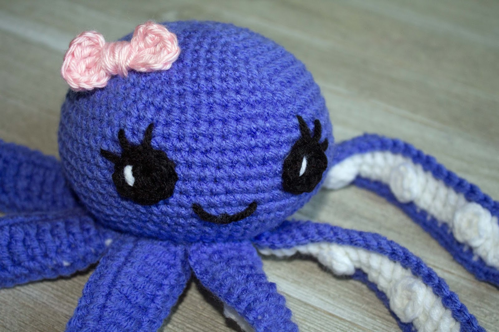 Knitting Pattern Octopus Toy : Amigurumi Octopus Baby Toy Free Pattern - The Friendly Red Fox