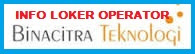 Info Lowongan Kerja Terbaru April 2016 Jakarta PT Binacitra Teknologi