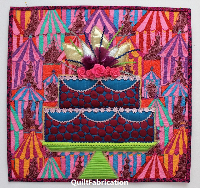 Celebrate with Cake! by QuiltFabrication