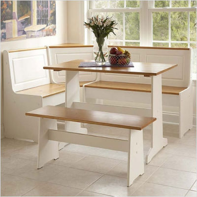 Impressive Kitchen Table Booths That Will Add Charm Freshness