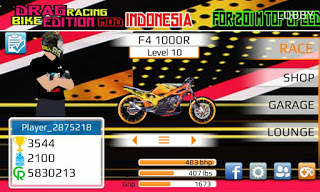 Game Drag Bike Indonesia Mod Apk for Android