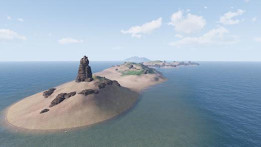 Arma3用の尖閣諸島マップ MOD