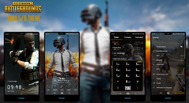 PUBG Mobile Theme untuk EMUI