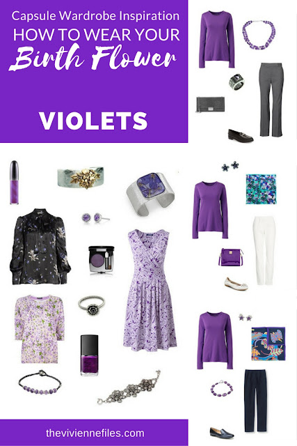 """Violets! The """"Birth Flower"""" for February"""