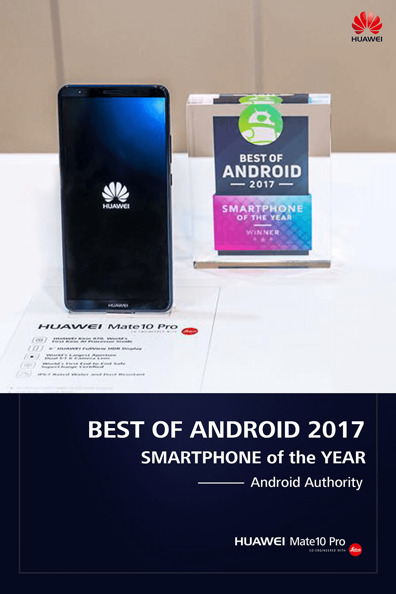 CES 2018: Huawei bagged 5 awards including smartphone of the year!