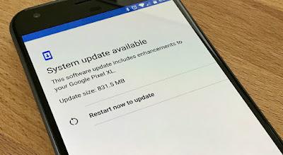 Perbarui atau Update Sistem Operasi Android