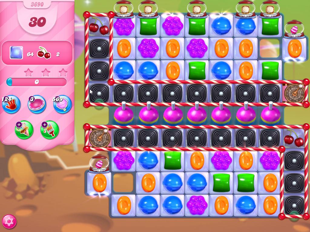 Candy Crush Saga level 3690