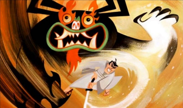 lyrics of samurai jack theme song