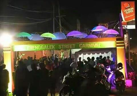 Trenggalek Street Carnival, Event Spektakuler Pertama dan Terbesar di Bumi Menaksopal