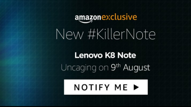Lenovo to give pure stock android experience with k8 note