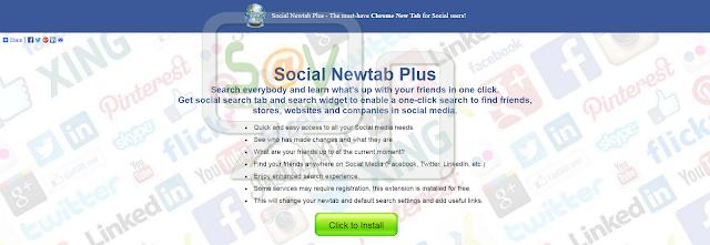 Social Newtab Plus