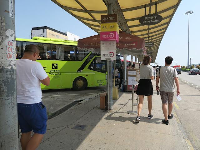 MACAU : Bus terminal