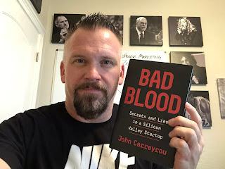 BridgeHouse Marketing | Terry Jensen | The BridgeHouse Book Club | Bad Blood by John Carreyrou