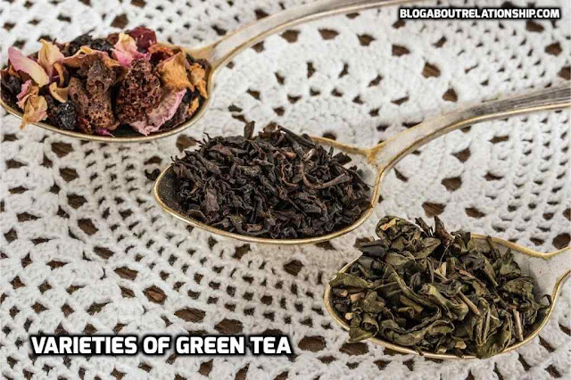 Green Tea recipes types benefits [health]