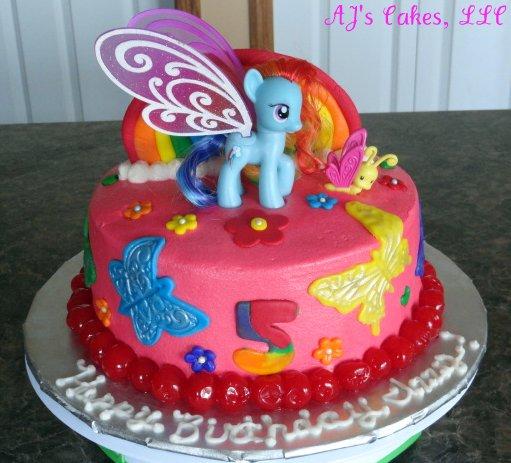 Metro My Little Pony Birthday Cake