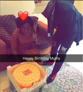Ubi Franklin celebrates Mum on Her Birthday