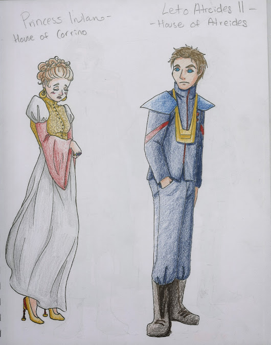 Katie LaFontaine- Dune Characters