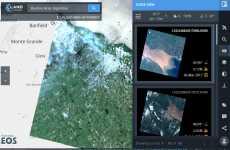 Land Viewer: explorador de imágenes de satélite
