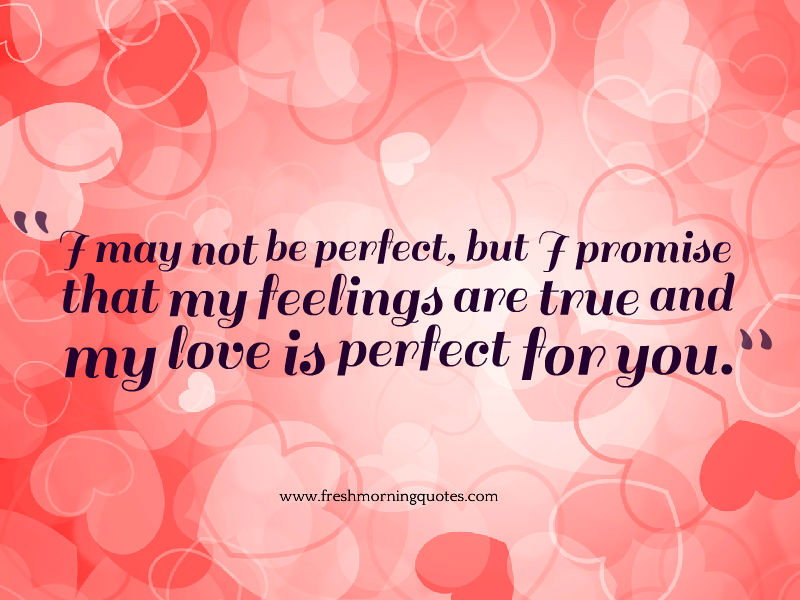 My Love Is Perfect For You