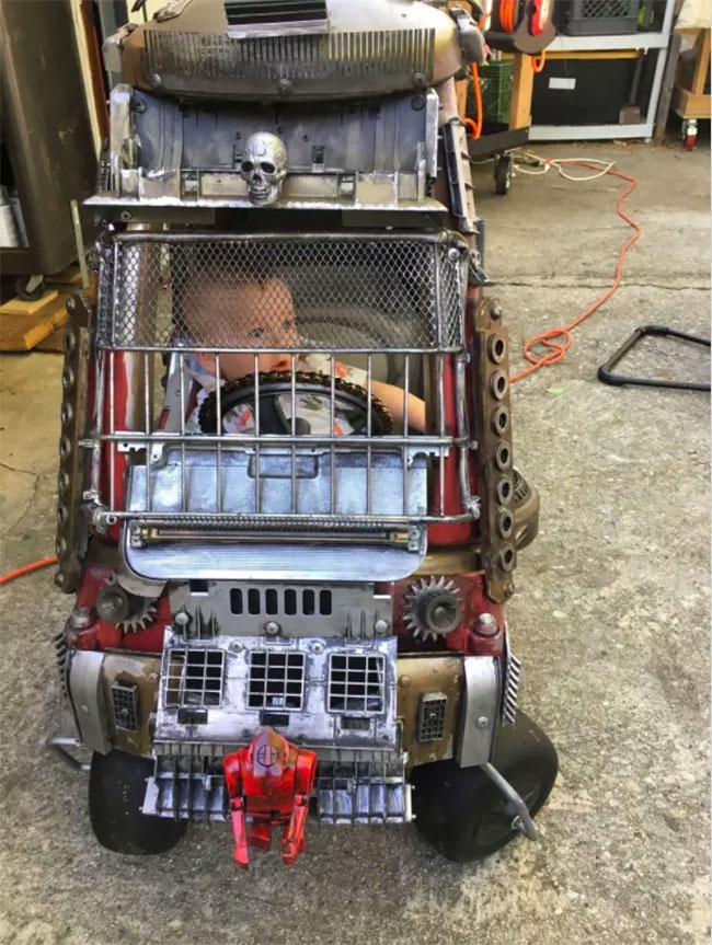 03-Ian-Pfaff-Little-Tikes-Cozy-Coupe-Infused-with-Mad-Max-www-designstack-co