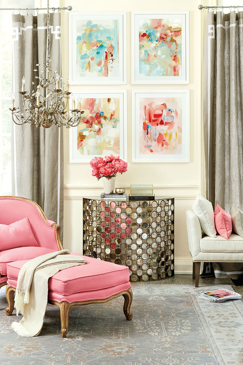 French Style Living Room: Classic French-style Living Room By