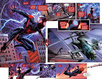 New Black and Hispanic Ultimate Spider-Man, Miles Morales, confronts Galactus in Cataclysm: The Ultimate's Last Stand 2