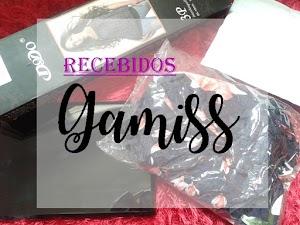 Recebidos da loja Gamiss