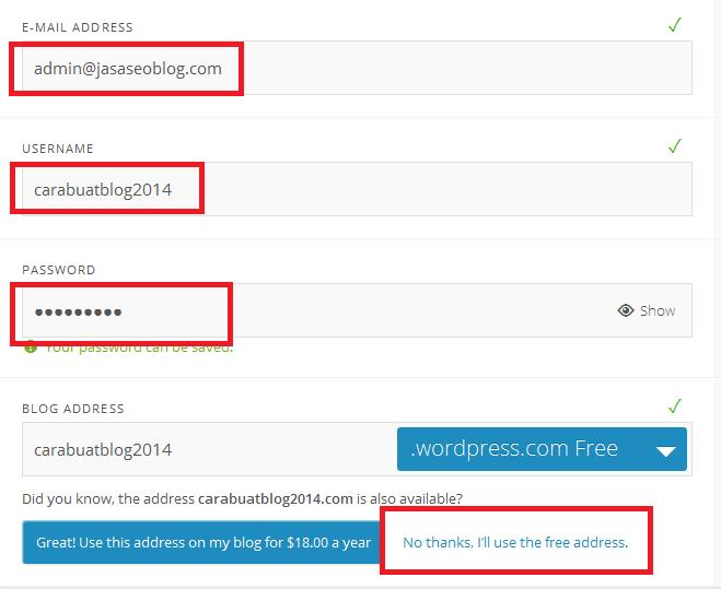 Cara Gampang Membuat Blog di Wordpress Bagi Pemula