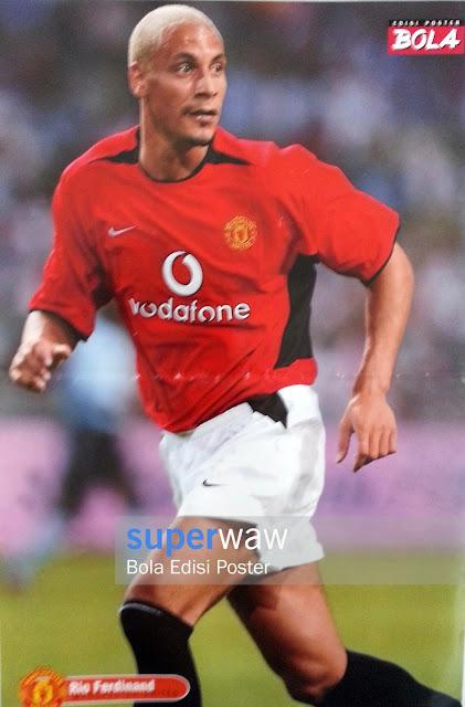 Poster Rio Ferdinand (Manchester United)