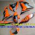 Mẫu sơn tem đấu airbursh Exciter 150 màu cam đen [Exciter150_SG2018]