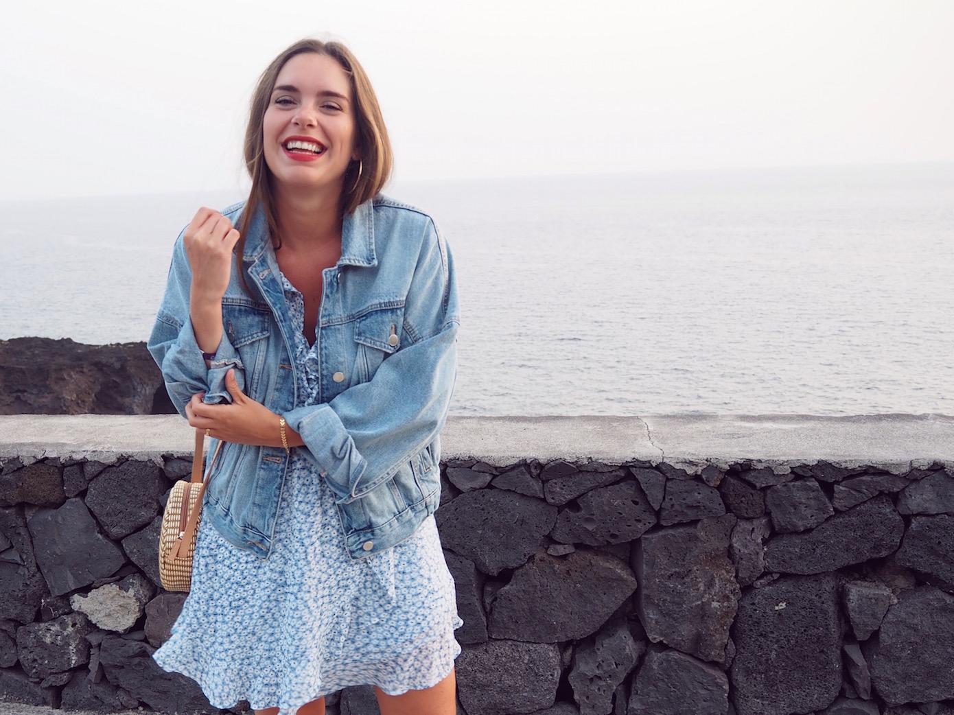 blog mode robe fleurie