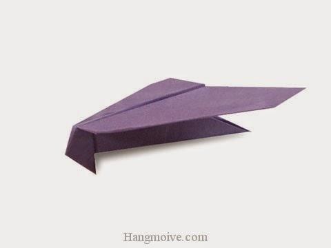 Cách gấp, xếp máy bay F-35 bằng giấy origami phi cao, xa, bay lâu mãi không rơi - Video hướng dẫn xếp hình máy bay - How to fold a paper airplane 7