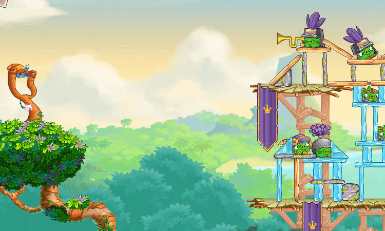 تحميل لعبة الطيور الغاضبة Angry Birds للكمبيوتر