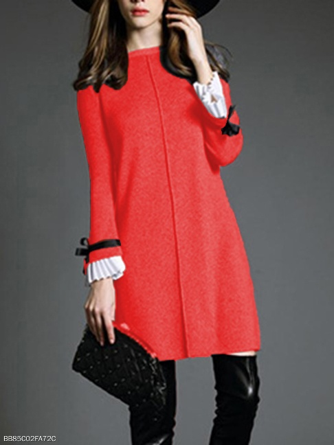 https://www.fashionmia.com/Products/round-neck-knitted-bowknot-bell-sleeve-shift-dress-205935.html