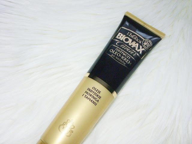 Odżywczy oleo krem do włosów z kawiorem i olejami indyjskimi, Caviar Biovax