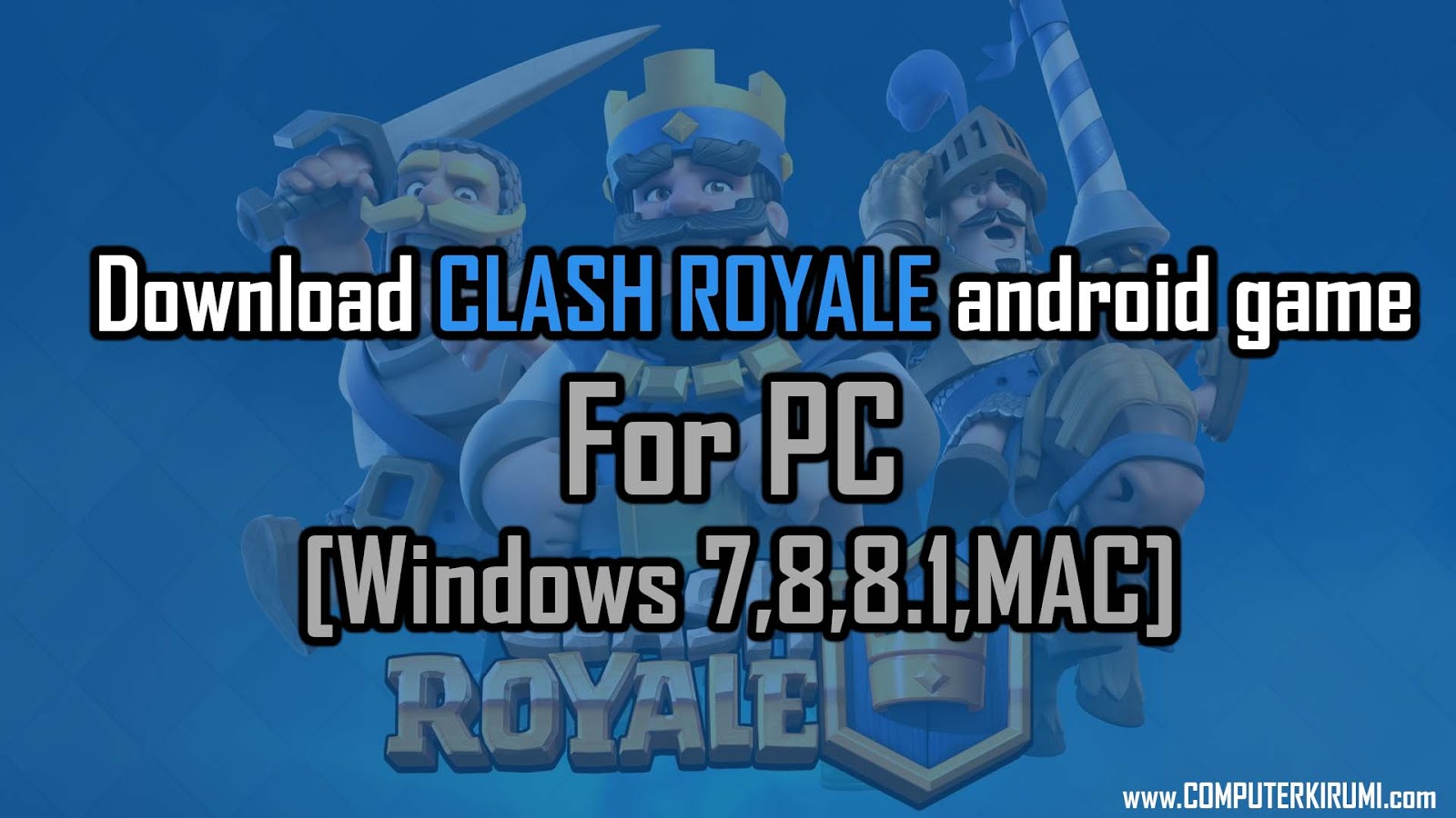 clash royale install pc