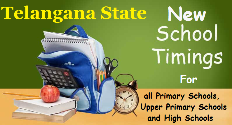 New School Time Table and Subject-wise Periods Allotment for all TS Schools