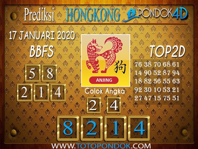 Prediksi Togel HONGKONG PONDOK4D 17 JANUARI 2020