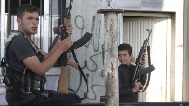 Terroristas usan a niños en ataques contra el Ejército sirio