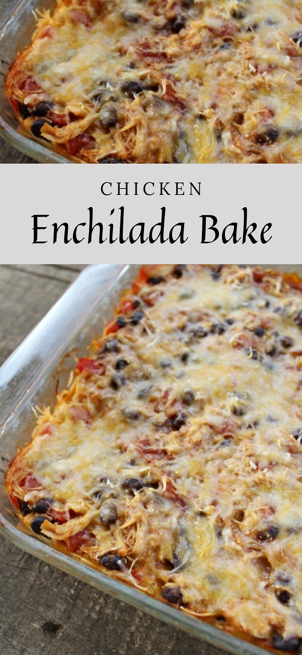 Weight Watchers Chicken Enchilada Bake