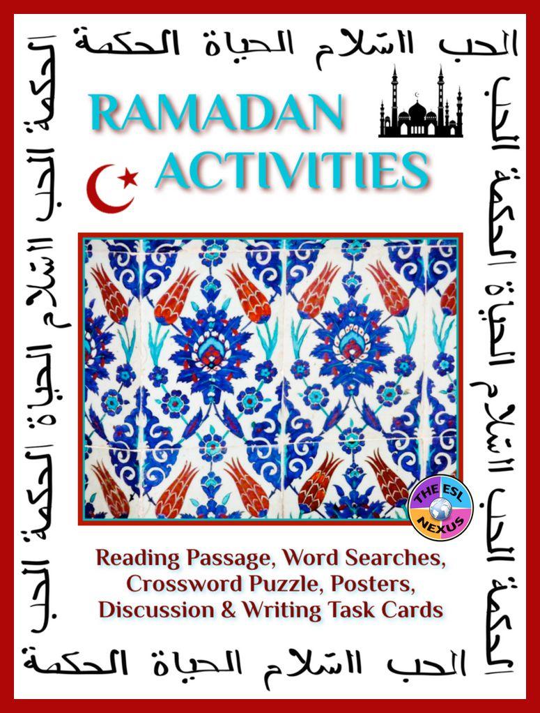 Find 5 activities for Ramadan in this resource | The ESL Nexus