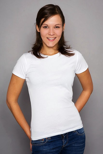 Plain T-Shirt Cotton Round Neck