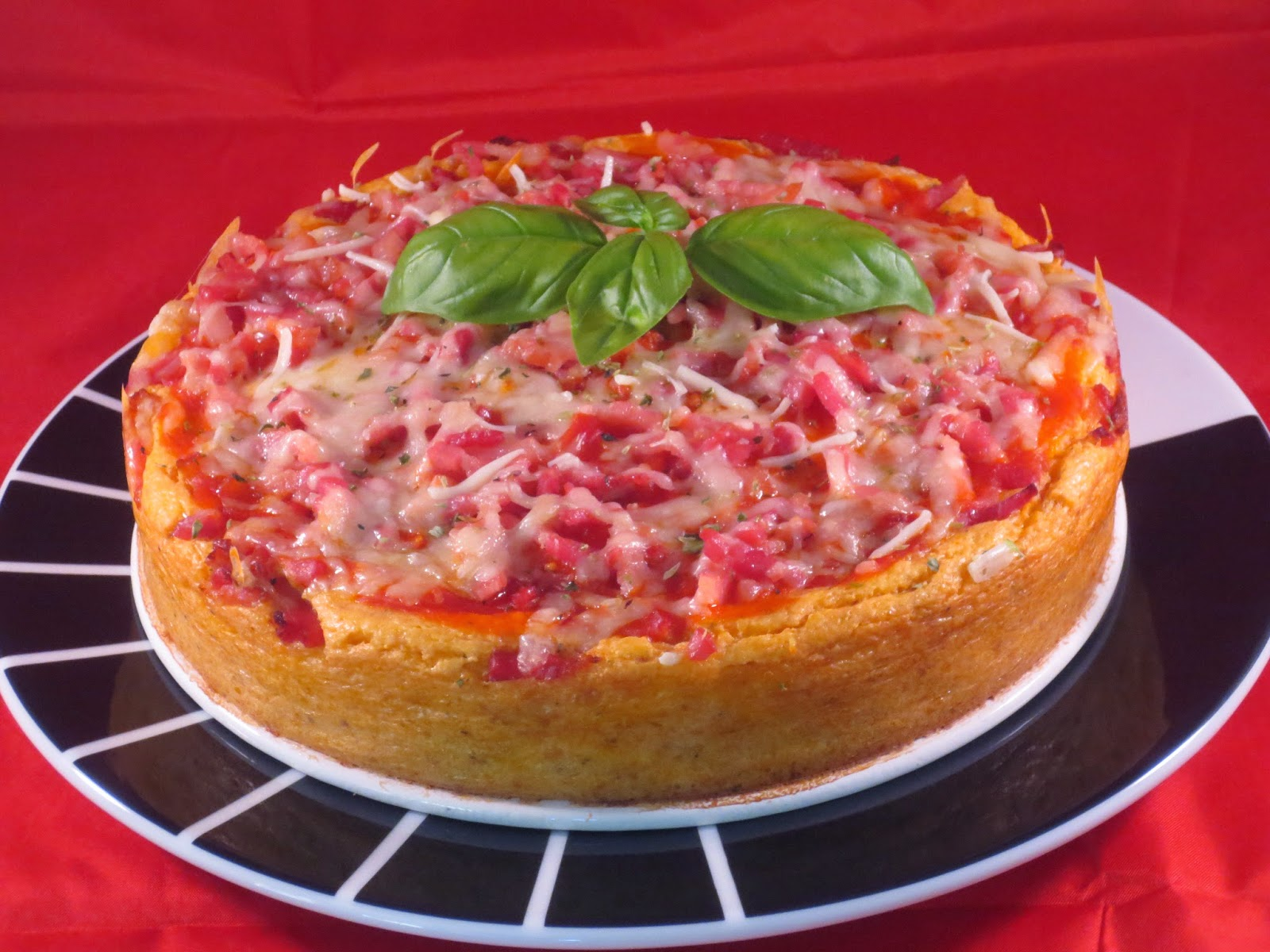 Cheescake de pizza Thermomix