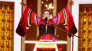 Eurovision 2018: Απίστευτη τούμπα της Netta (video)